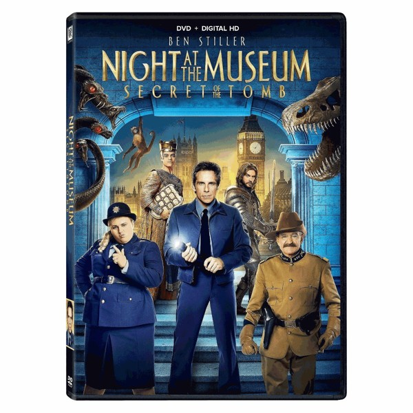 Night At The Museum DVDs product image