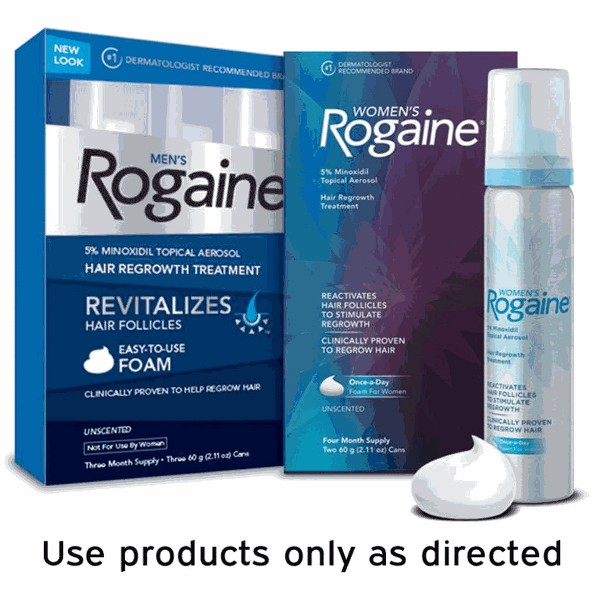 Rogaine Hair Regrowth Treatment product image