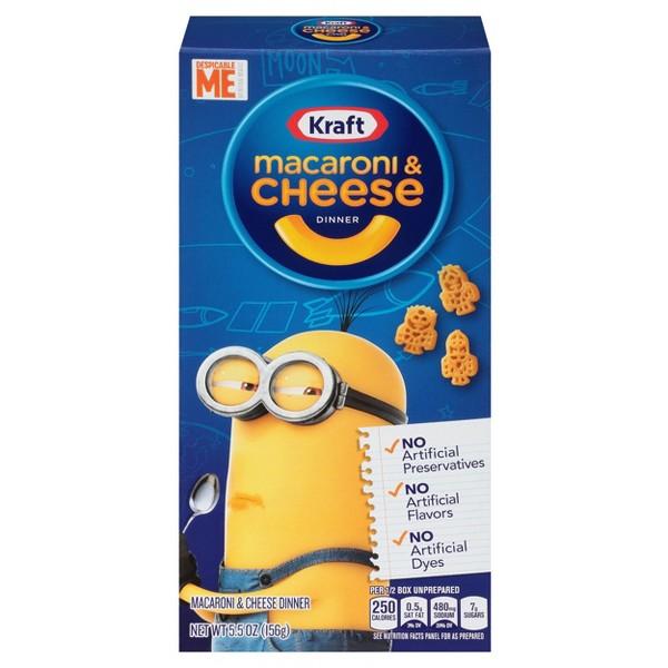 Kraft Minions Mac & Cheese Shapes product image