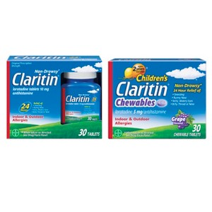 Claritin & ClariSpray Allergy