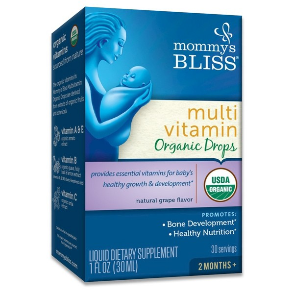 Mommy's Bliss Organic Vitamins product image