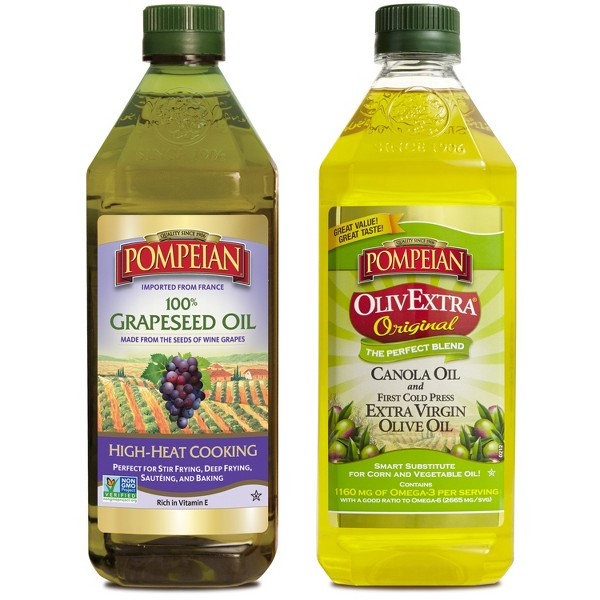 Pompeian Grapeseed or OlivExtra product image