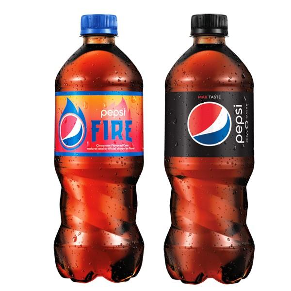 NEW Pepsi Fire & Pepsi Zero Sugar product image