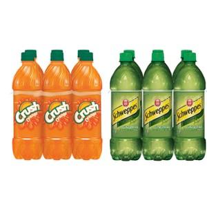 Crush & Schweppes Bottles