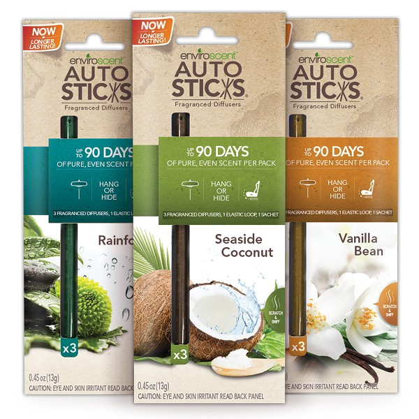 EnviroScent Scented AutoSticks product image