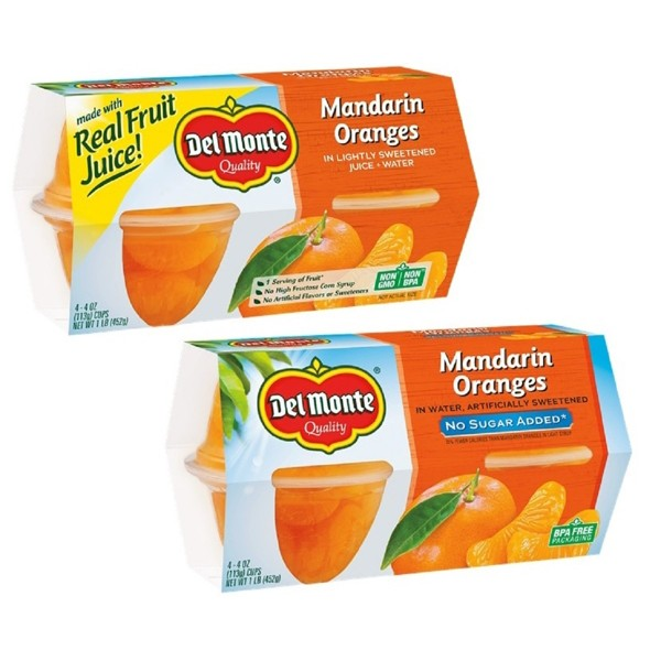 Del Monte Fruit Cups & Fusions product image