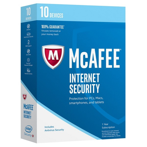 McAfee Internet Security product image