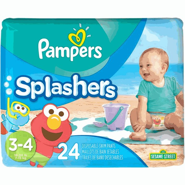 Pampers Splashers Swim Diapers product image