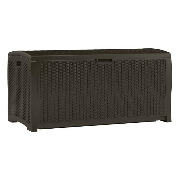 Suncast Resin Wicker Deck Box product image