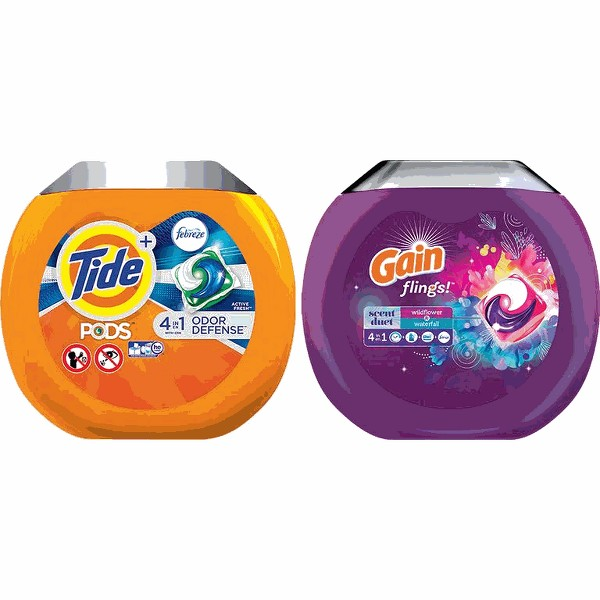 Tide Pods or Gain Flings product image