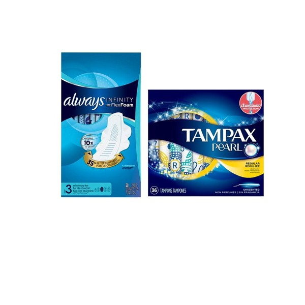 Always & Tampax product image