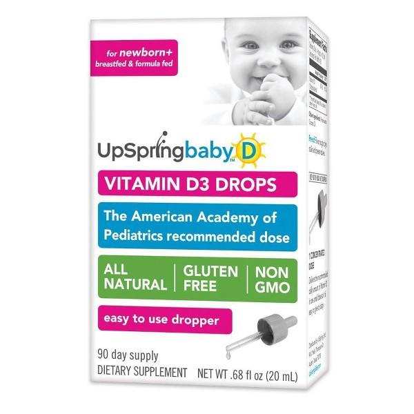 UpSpring Baby Vitamin D Drops product image