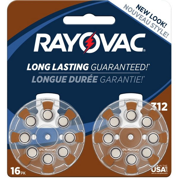 Rayovac Hearing Aid Batteries product image