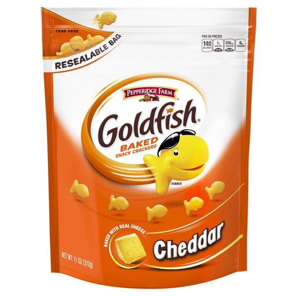 Goldfish Resealable Bags product image