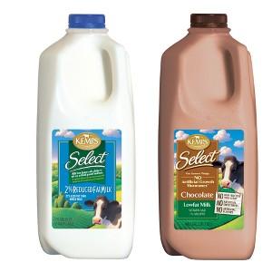 Kemps White & Chocolate Milk