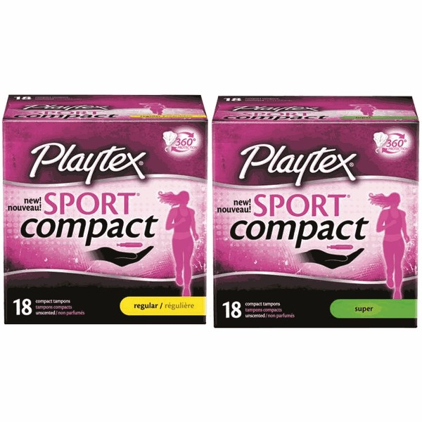 Playtex Sport Compact Tampons product image