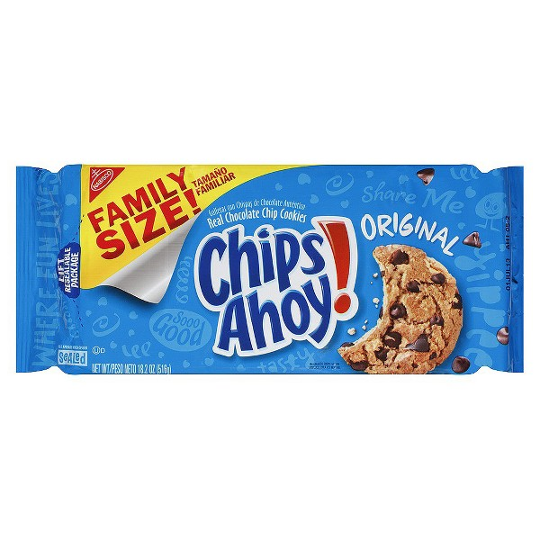 Chips Ahoy Chocolate Chip Cookies product image