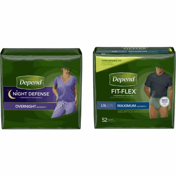 Depend Underwear product image