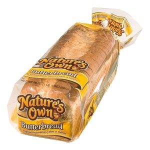 Natures Own Butter Bread