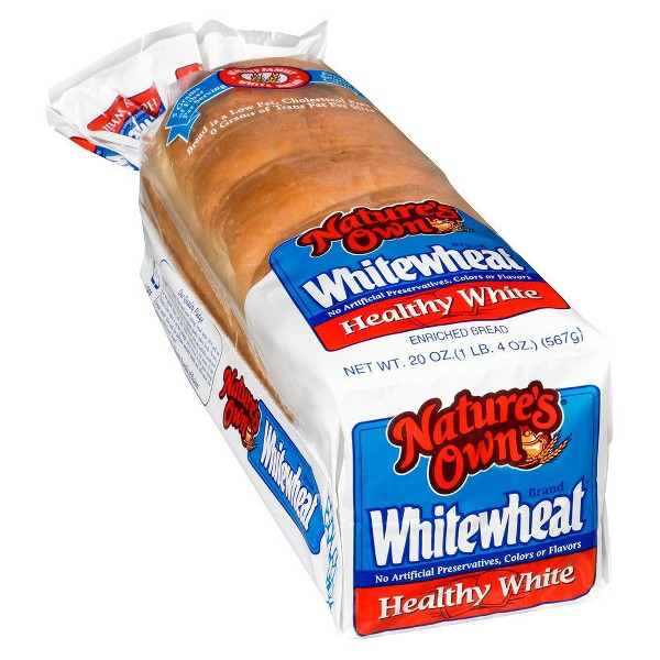 Natures Own White Wheat Bread product image