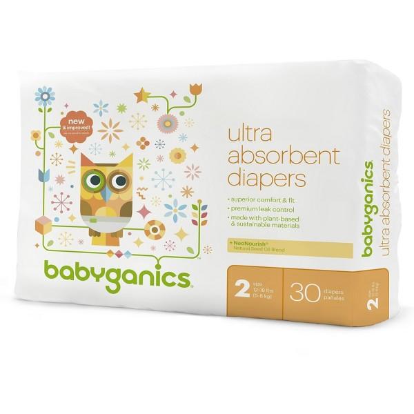 Babyganics Diapers product image