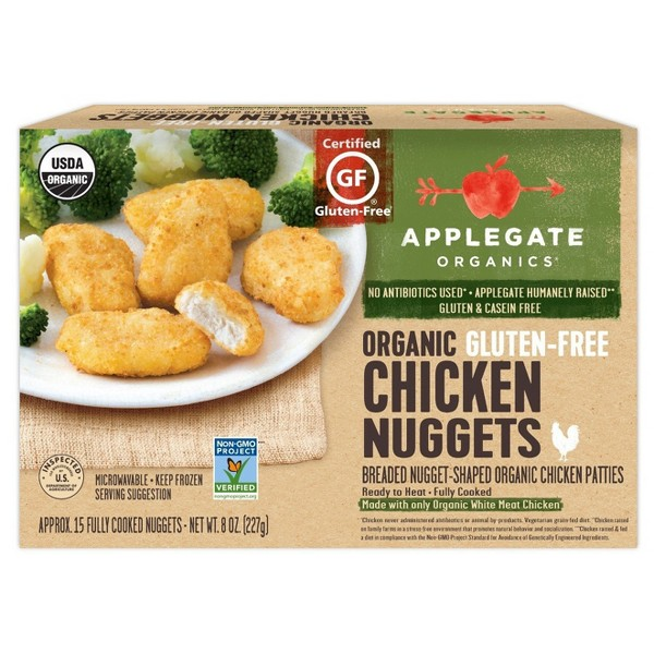 Applegate Frozen Breaded Chicken product image