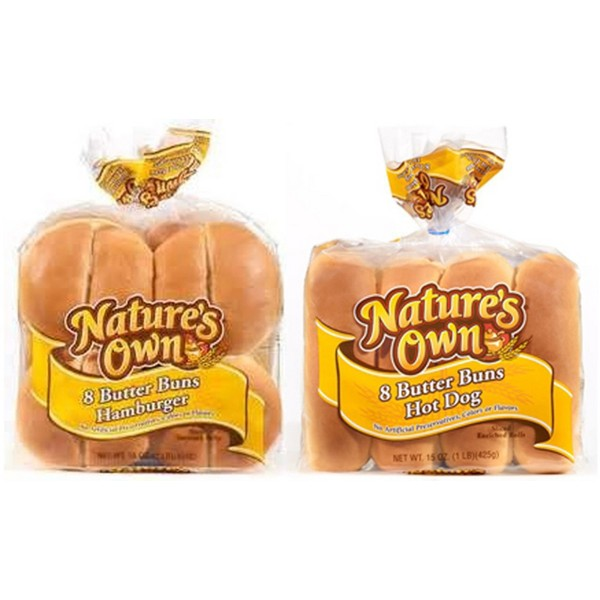 Natures Own Butter Buns product image