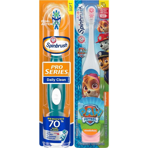 Arm & Hammer Spinbrush Toothbrush product image