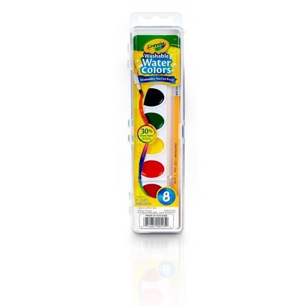 Crayola 8 ct Washable Watercolors product image