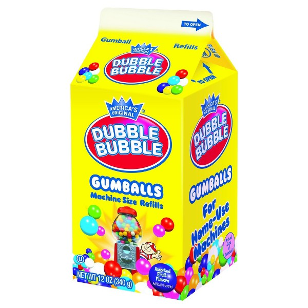 Dubble Bubble Gumball Carton product image