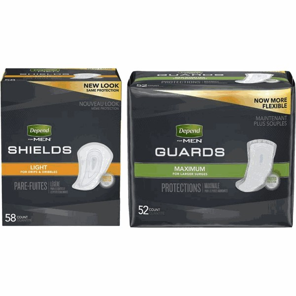 Depend Shields or Guards for Men product image