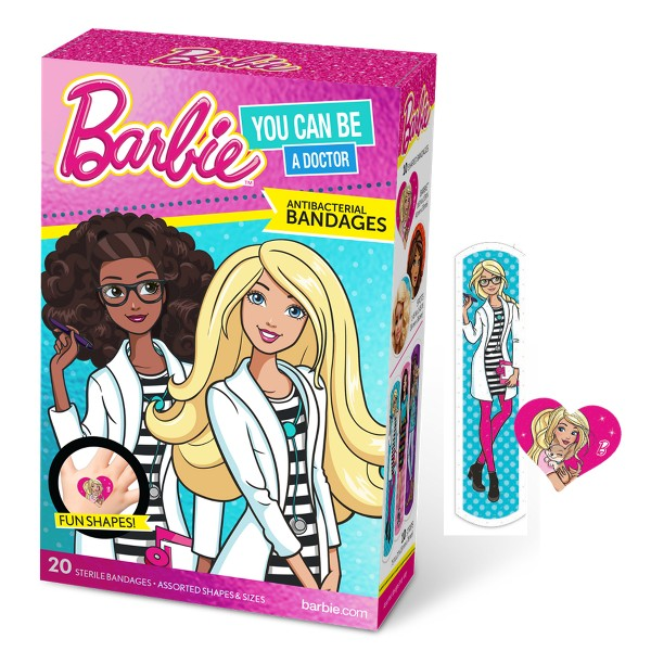 Barbie Anti-Bacterial Bandages product image