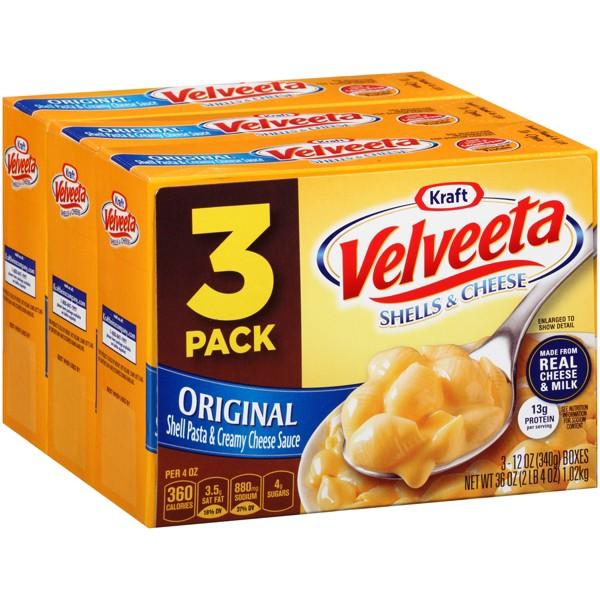 Velveeta 3pk Shells & Cheese product image