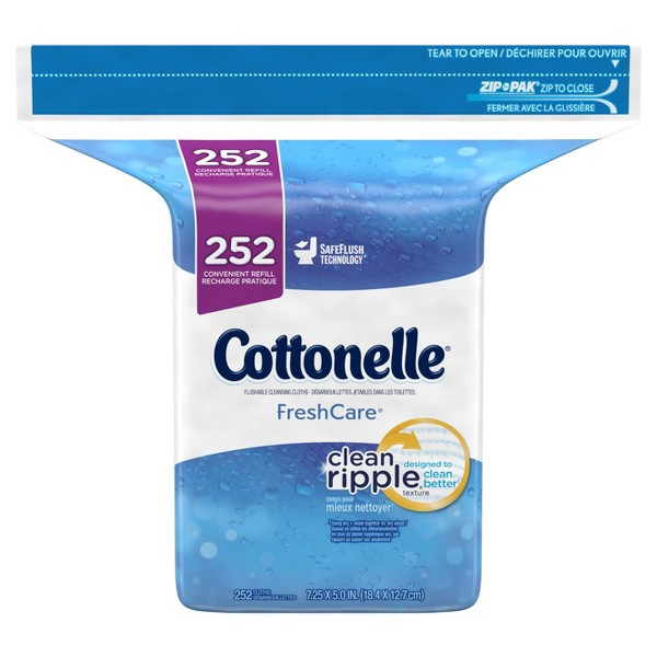 Cottonelle Flushable Wipes product image