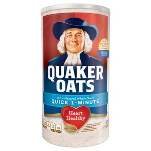 Quaker Oatmeal Canister