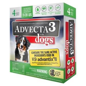 Advecta 3 Dog Flea Drops