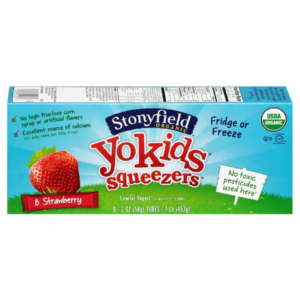 Stonyfield YoKids Squeezers product image