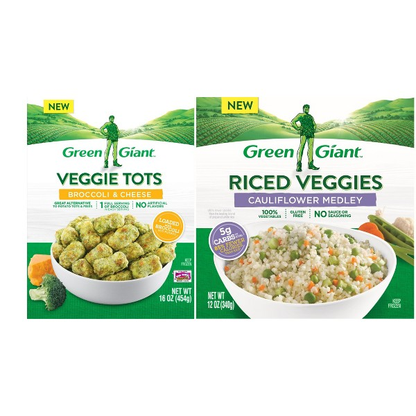 New Green Giant Frozen Veggies product image