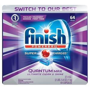 Finish Dish Detergent & Additives