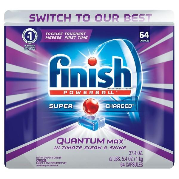 Finish Dish Detergent & Additives product image