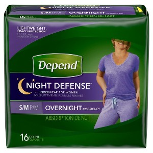 Depend Night Defense