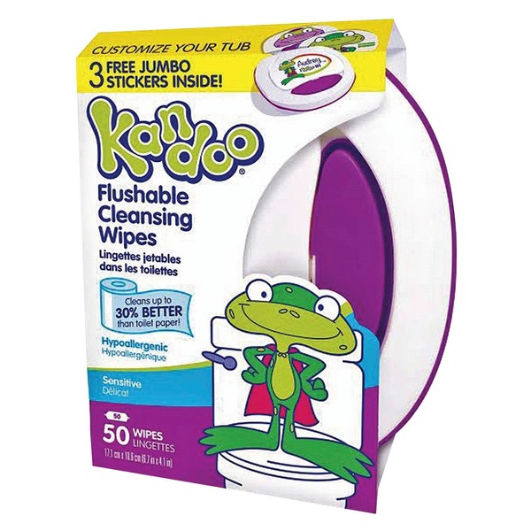 Kandoo Flushable Wipes product image