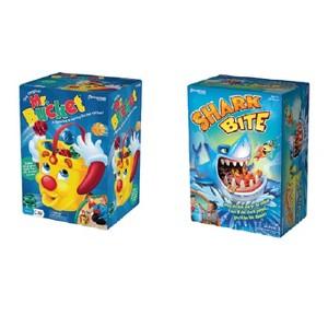 Mr. Bucket & Shark Bite Games