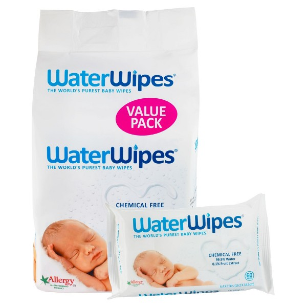 WaterWipes Chemical Free Baby Wipe product image