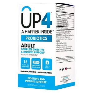 UP4 Adult Probiotic Capsules