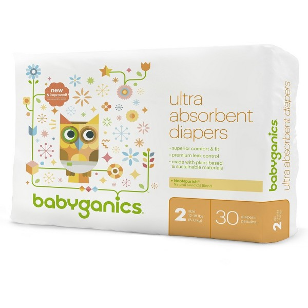 Babyganics Diapers product image
