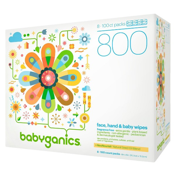 Babyganics Wipes product image