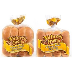 Natures Own Butter Buns