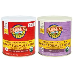 Earth's Best Organic Formulas