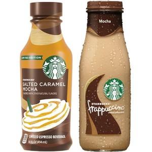Starbucks Frappuccinos & Lattes